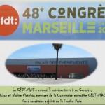 La CFDT-MAE au congrès confédéral à Marseille, du 2 au 6 juin 2014