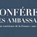 Conférence des ambassadeurs – poursuite de l'adaptation du réseau : les mots bleus de l'administration