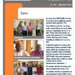 Lettre du syndicat n°245