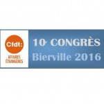 Xème congrès CFDT-MAE – Rapport financier 2012-2016