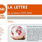 Handicap, restauration parisienne et nantaise, Quai d'Orsay 21 etc. : la «LDS» de février est en ligne !