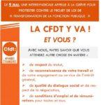 Grève du 9 mai, la CFDT y va. Et vous ?